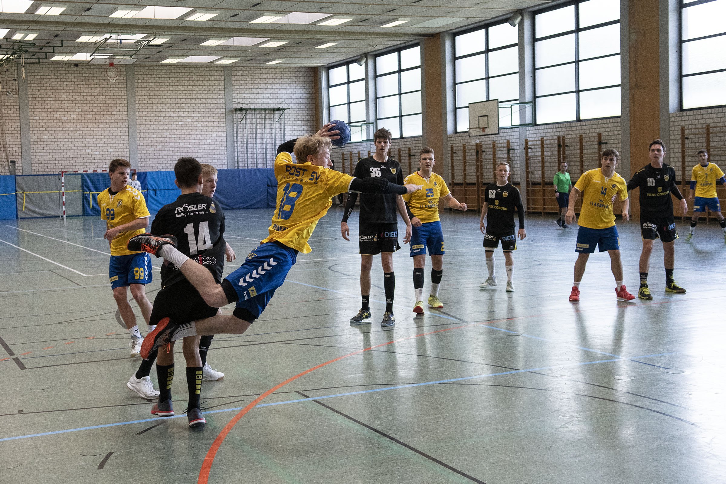 HBC-A-Jugend schlägt Bundesliganachwuchs aus Coburg