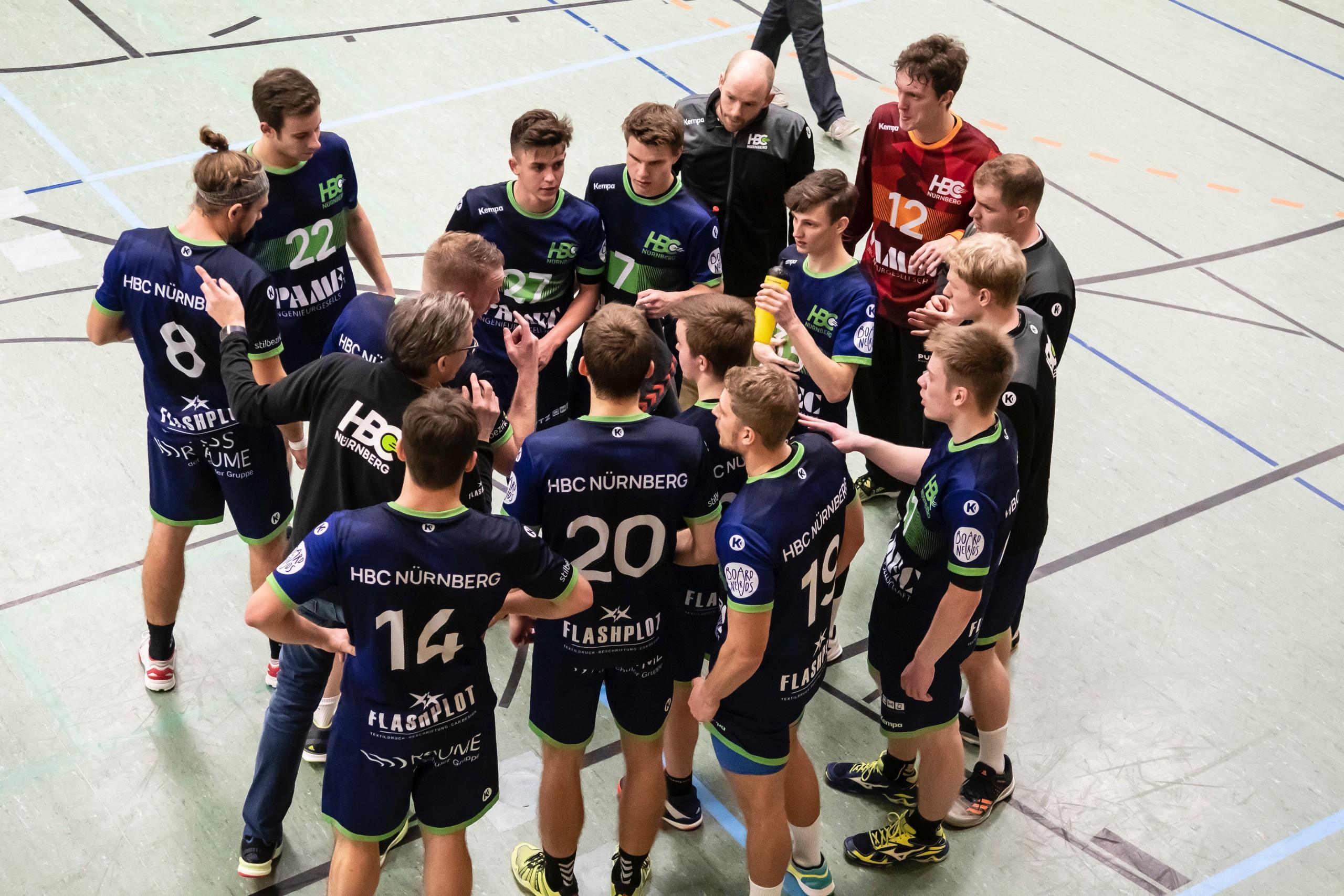 Torwart Jost Harenberg sichert HBC Men den Sieg