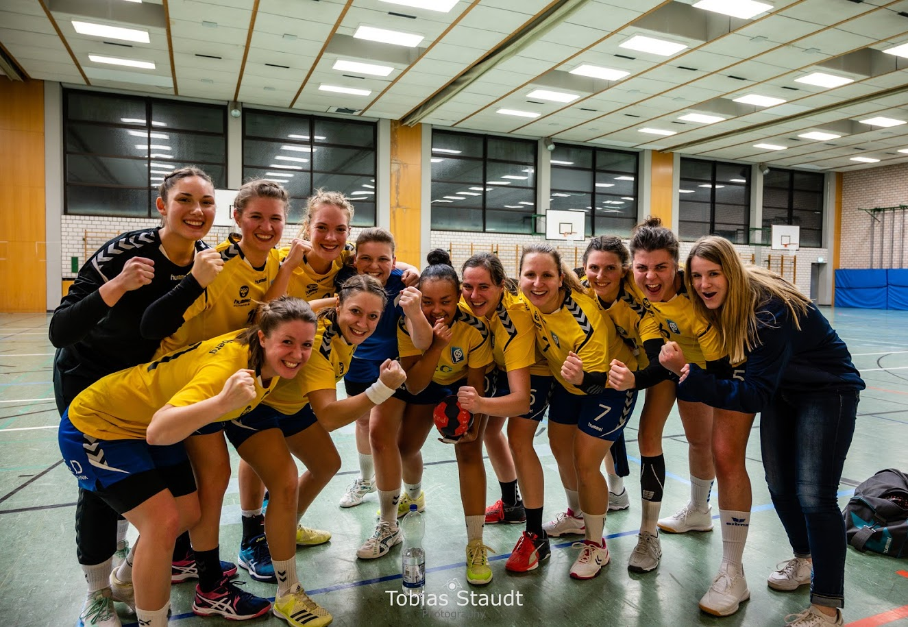 Sieg der Post-Damen II gegen Tuspo Heroldsberg