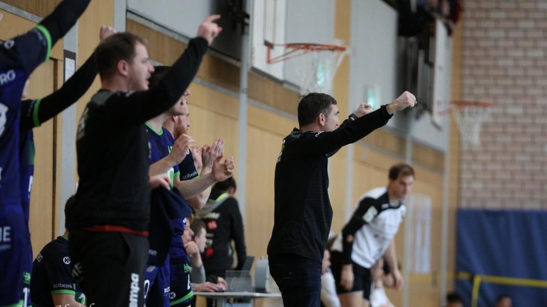 Stabile Mannschaftsleistung der HBC-Men führt zu Sieg gegen Zirndorf