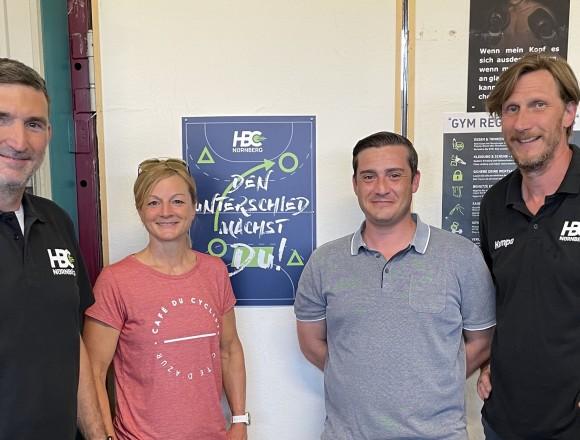 Neues Trainerteam für die Bayernliga Damenmannschaft des HBC