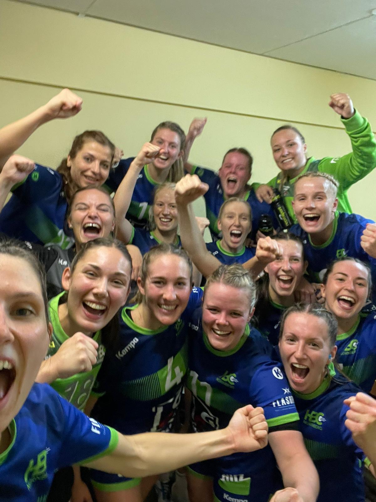 Erster Bayernliga Heimsieg für die HBC-Damen