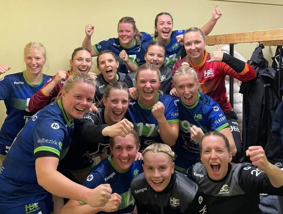 HBC Ladies gewinnen Heimspiel deutlich gegen Bayreuth 34:13